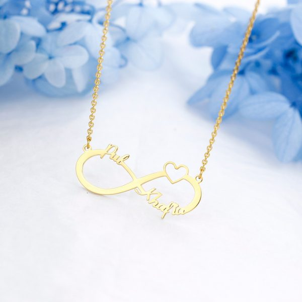 Personalized Infinity Pendant Necklace 1