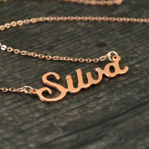 Personalized Name Pendant Necklace 5