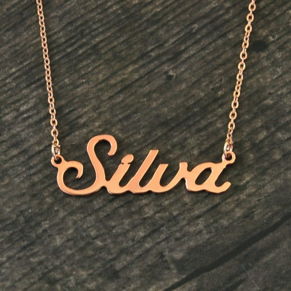Personalized Name Pendant Necklace 3
