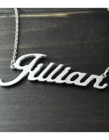 Personalized Name Pendant Necklace 1