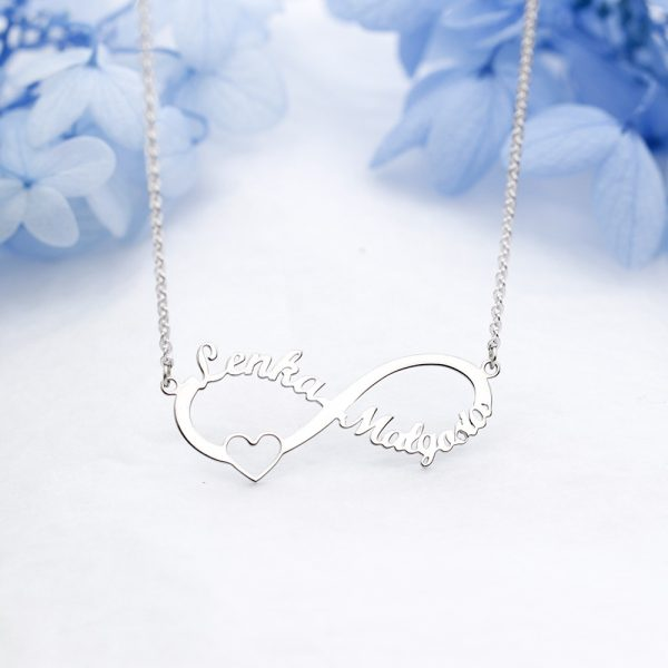 Personalized Infinity Pendant Necklace 2