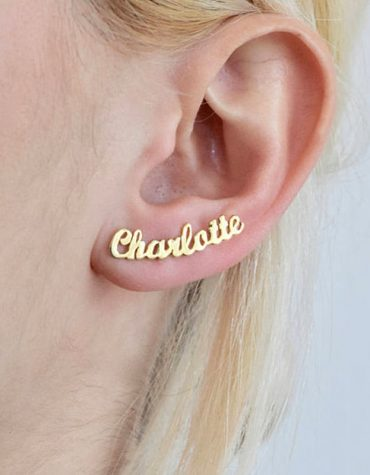 Personalized Custom Name Earrings