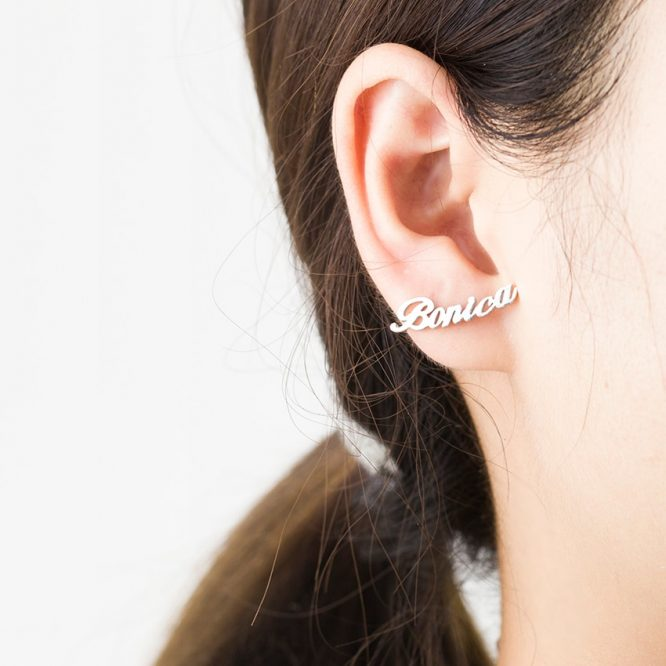 Personalized Custom Name Earrings 3